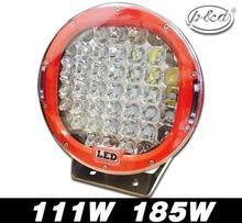high power offroad 15000 lms auto offroad 185 watt LED driving light