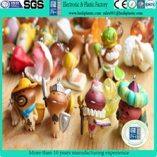 custom mini silicone action figures, personalized plastic vinyl toys action figure, famous plastic anime action figures