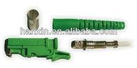 E2000 PC/APC fiber optic connector components