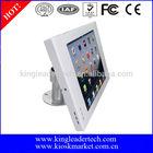 Tabletop adjustable ipad2 kiosk stand with 360 rotatable bracket for apple ipad tablet