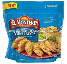 Shredded Chicken Tacos Packaging bags