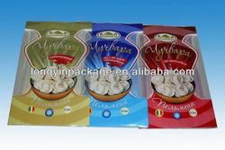 cool bag for frozen food/frozen food packaging pouch bag/frozen food packaging bag for dumpling