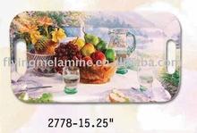 Melamine Handled tray