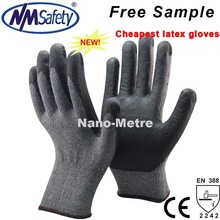 NMSAFETY China cheapest latex hand working gloves