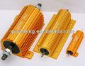 Alojado alumínio fio- ferida resistor power rx24