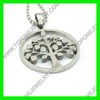 2014 hot selling the tree of life 316L Stainless Steel Pendant