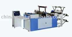 hot seal hot cut side seal bag machine