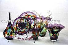 eiffel tower centerpieces tall murano home decorative purple glass vases for flower arrangement
