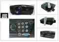Digitalgalaxy video proiettore a cristalli liquidi per wii, psp, dvd, xbox360, dvd, pc