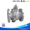 manual flange API600 cast steel ball valve
