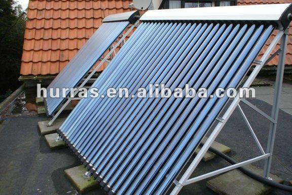 chaleur tuyau vertical tubes vide capteur solaire pour. Black Bedroom Furniture Sets. Home Design Ideas