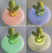 Hot Sale LED discolor aroma night light aroma fragrance lamp