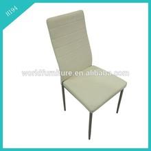 2014 new kind of chrome dining chair in European taste