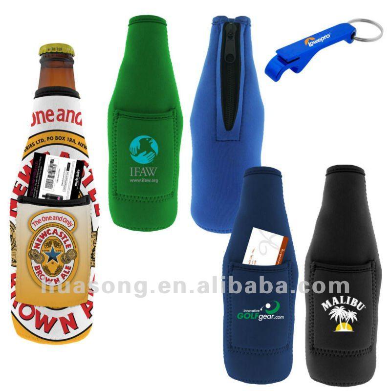 Portable Beer Bottle Cooler Holder