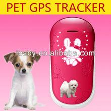 GSM P2G gps GEO fence mini pet tracker