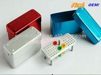 China Medical supplier aluminium autoclave disinfection box