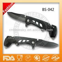 gun shape folding outdoor camping knife