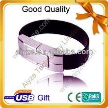 usb bracelet leather / leather bracelet usb flash drive