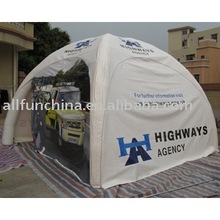 fire-retardant event use Inflatable sealed air dome or gazebo tent dome tent