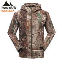 Custom high quality waterproof camo hunting jacket