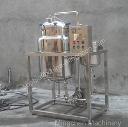 Tea and juice sterilizer / fresh milk pasteurizer / HTST sterilizer