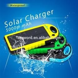 Waterproof waterproof solar charger YD-T011, green solar energy