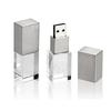 Crystal Glass USB Flash Drive with LED Light