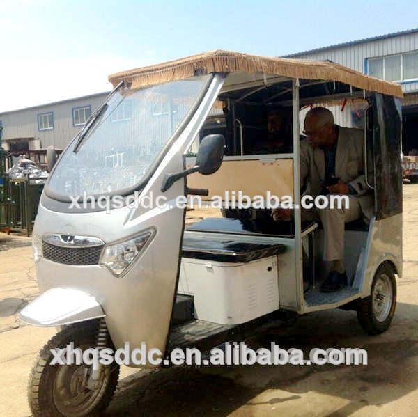 china three wheel battery powered electric rickshaw for sale