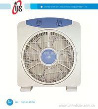 8inch/10inch/12inch box fan turbo fan filter box fans with 360 oscillation