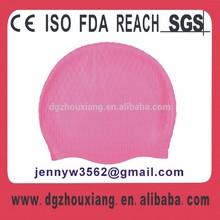 Flexible silicone bubble grain swim cap, unique cool waterproof swim cap BC series