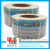 full color roll customized waterproof vinyl stickers