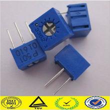 Single turn trimmer 6mm Slide/Rotary/Dimmer/PCB/single Potentiometer 3362P