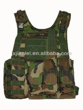 Millitary Style 051 Camouflage Combat Tactical MOLLE Vest/Bullet Proof Tactical Vest/Anti Ballistic Tactical Vest
