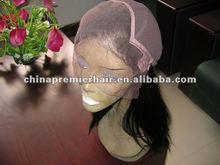 fashion white short full lace wig