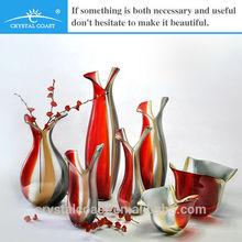 bulk handblown zebra colored antique murano glass vase
