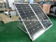 A graded Bosch 200w18V portable folding solar panel