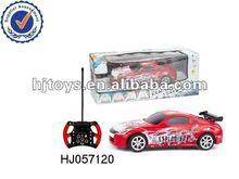 1:24 4 channels RC graffiti car 2015 new childrens car toys China toy RC mini funny toys
