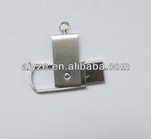 mini revolving usb flash disk,metal thumbdrive,flash drive