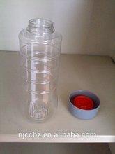 500ml 300ml plastic washibi soy sause jar with 38mm cap