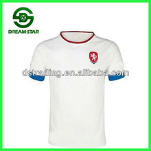 2014 latest the most fashionable Czech away football jersey, high quality soccer uniform