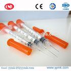 Hot sale syringe for diabetes diposable 0.3cc 0.5cc 1cc insulin syringe
