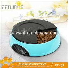 electronic dog feeder/ pet food dispenser/automatic pet food