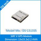 13 x 15mm DS-1315S5 GPS Glonass Module SiRF Star V GPS Galileo GNSS QZSS Module