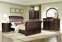 The latest design comfortable wooden bedroom furniture (BS-5169)