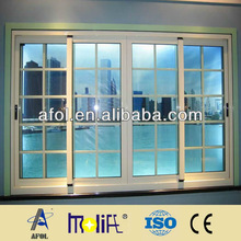 Zhejiang Hangzhou AFOL automatic aluminum sliding door,aluminium doors and windows