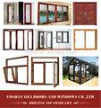 usado de tamanho padrão fotos janela de alumínio ea porta