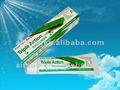 Caliente venta Airsun efficientdynamics marca Aloe Vera Natural anti - cavidades antibacteriana triple acción pasta de dientes refrescante pasta de dientes para adultos