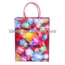 Fancy 3D PP Gift Bag / Laser PP Shopping Bag/3D Paper Bag