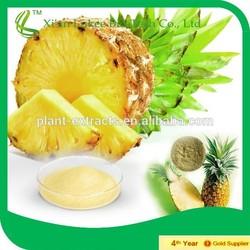 Plant Extract Stem bromelain, bromelin, pineapple extract,pineapple enzyme, 80GDU/G-2400GDU/G
