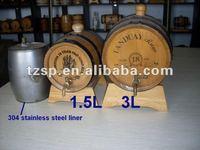 oak wine barrels